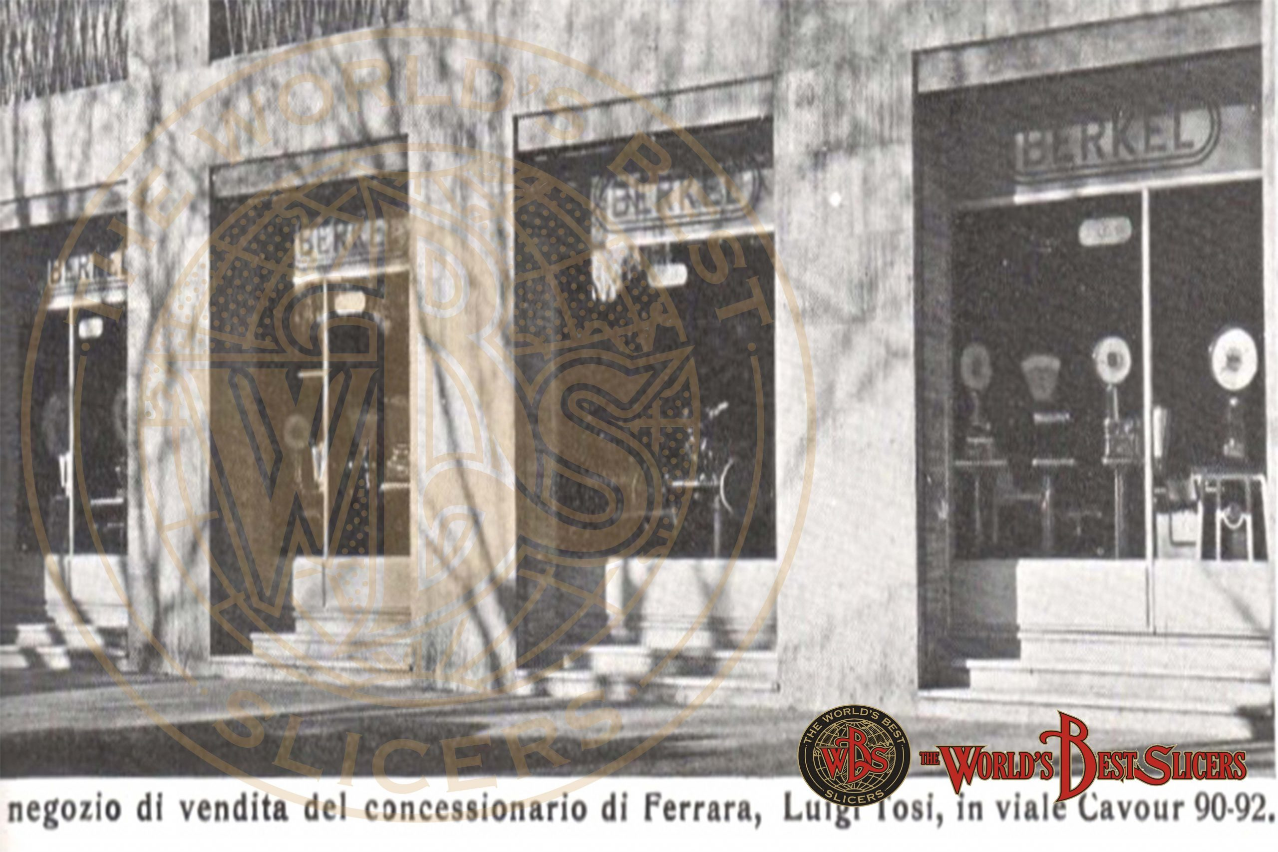 Ferrara-scaled W.A.Van Berkel's Geschichte