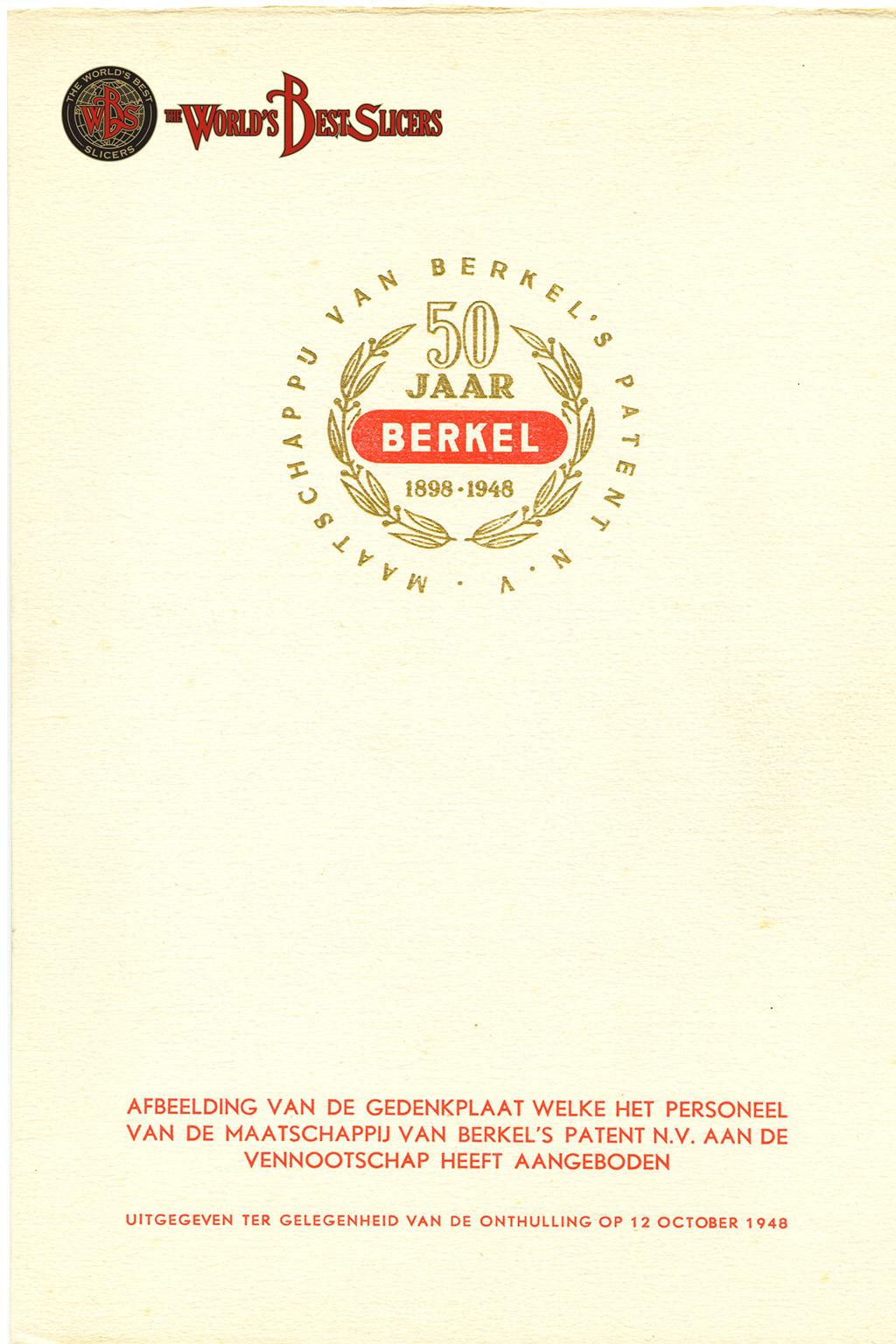 uu W.A.Van Berkel's Geschichte
