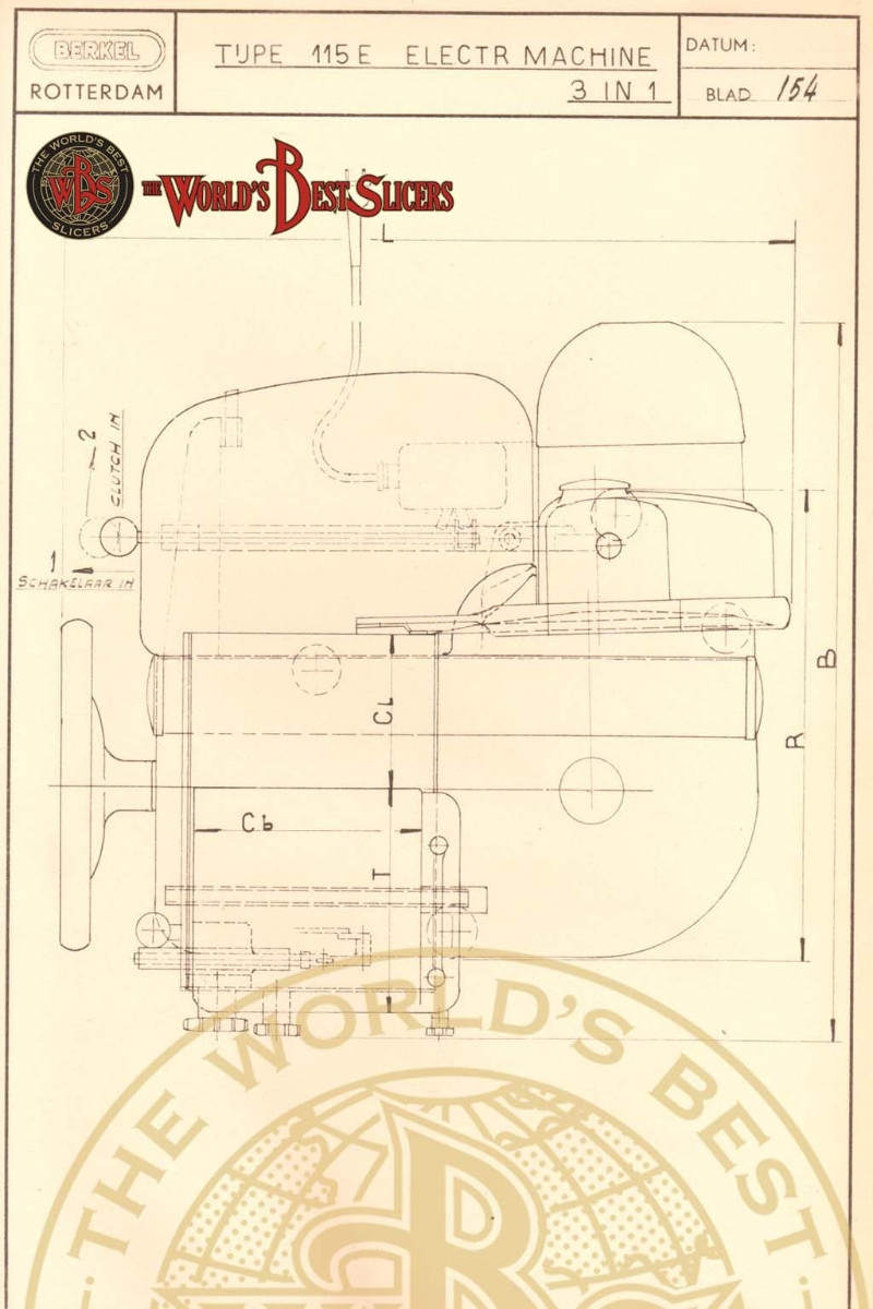 Berkel Modello 115 E