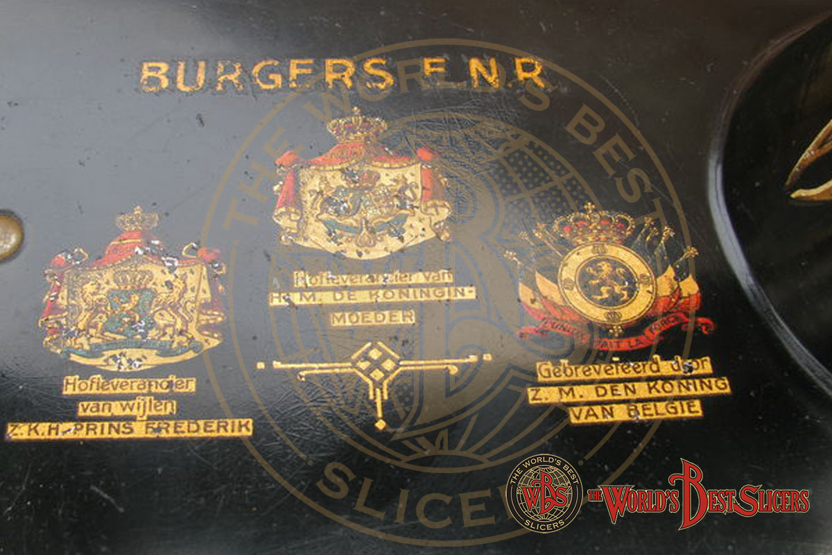 , Burgers & VDF, Affettetrici Berkel | Restauro e Vendita