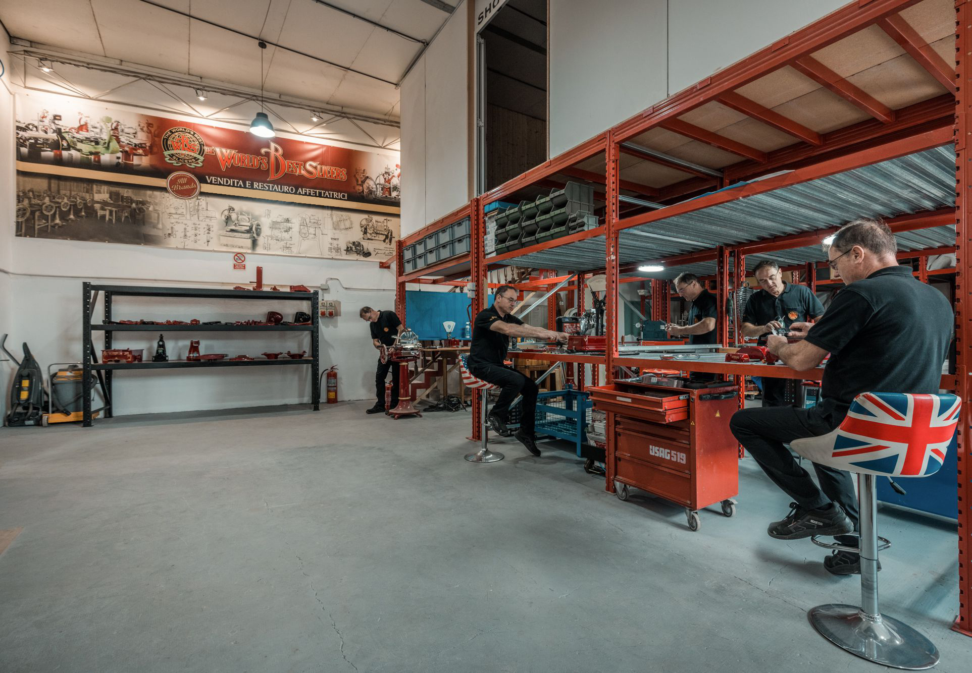 Laboratorio di restauro Berkel, Affettetrici Berkel | Restauro e Vendita