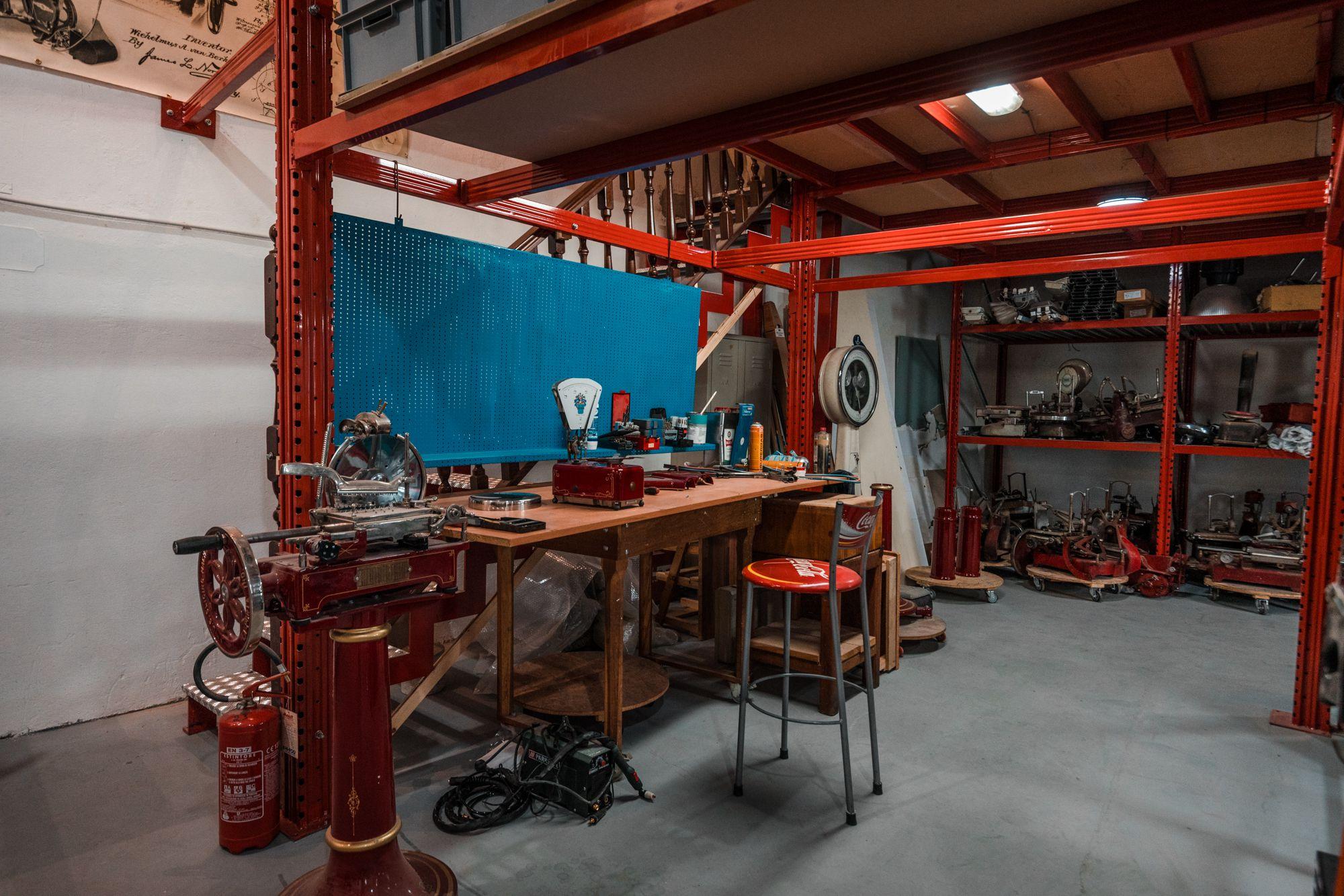 , Laboratorio di restauro Berkel, Affettetrici Berkel | Restauro e Vendita