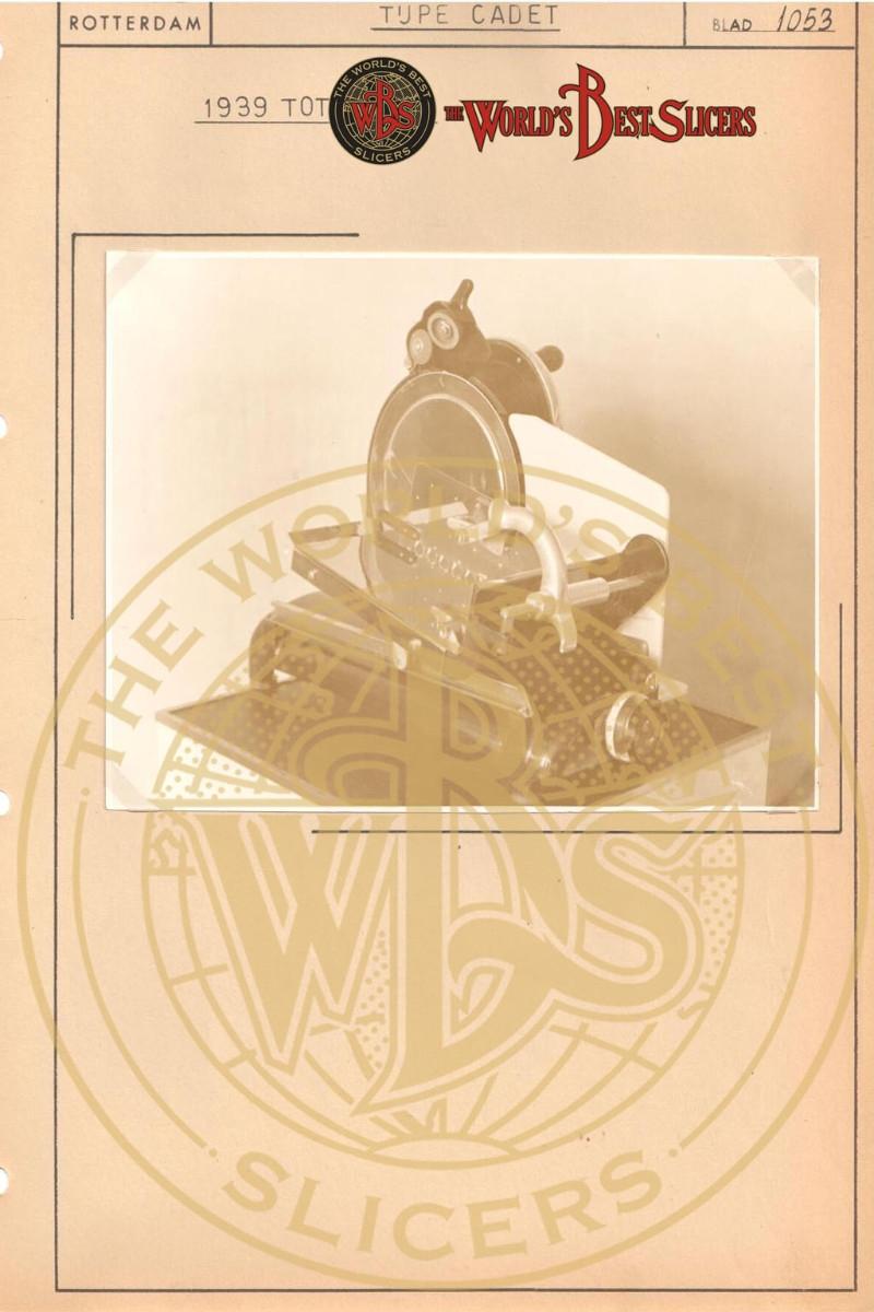 Berkel – Inghilterra Modello Cadet