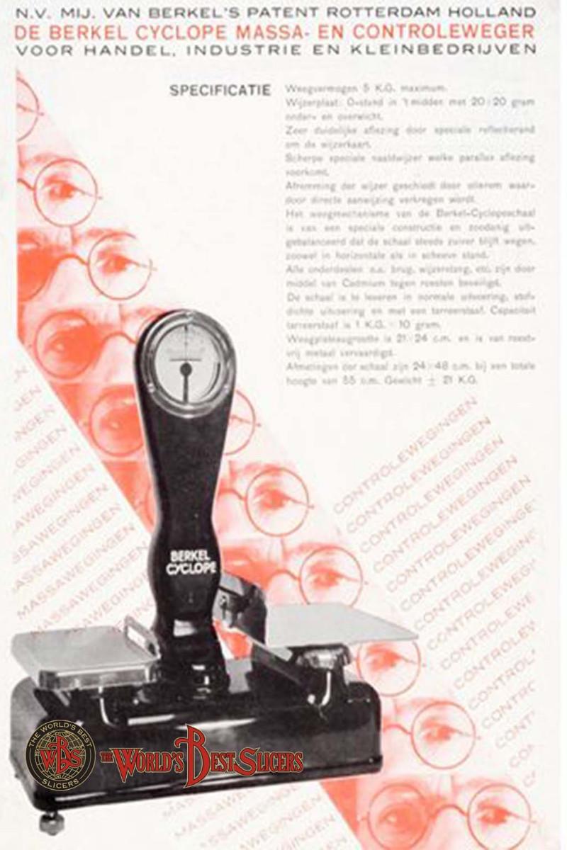 Bilancia Berkel Modello Cyclope