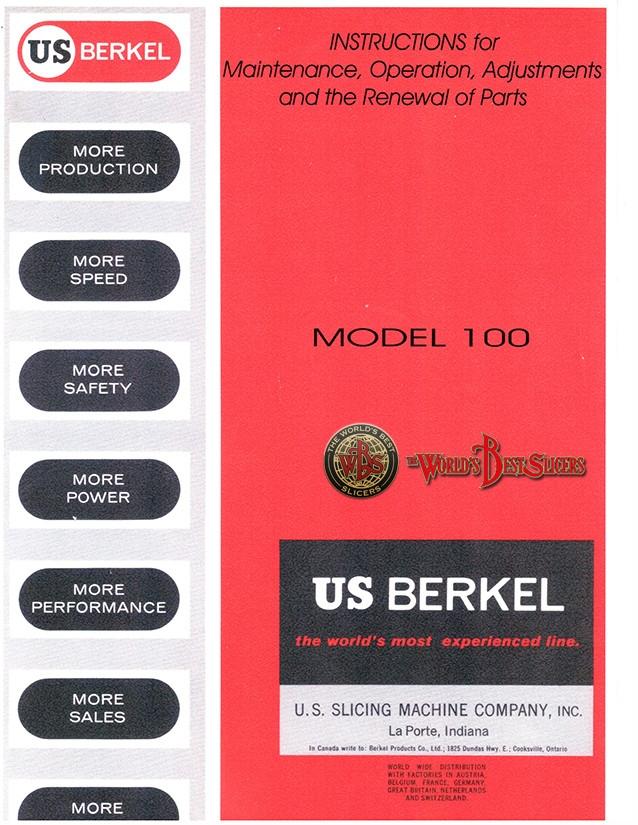 Berkel Modello 100