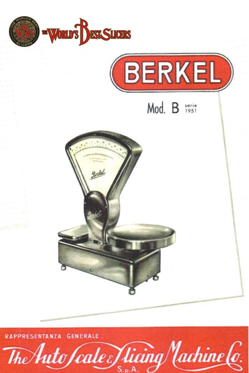 Bilancia Berkel Modello B Italia