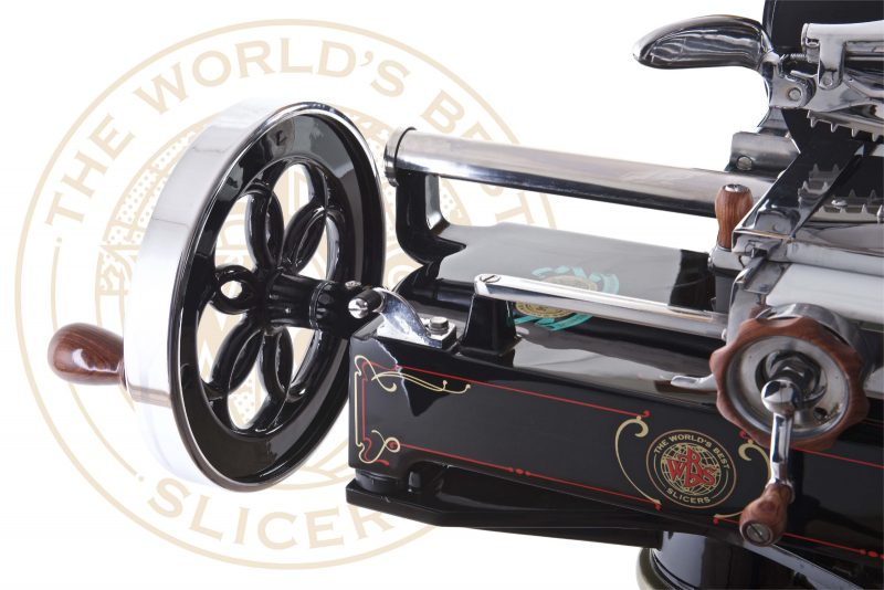 WBS modello 1 nera lucida